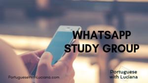 whatsapp study group