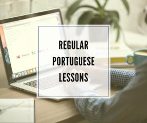 schedule Portuguese lesson
