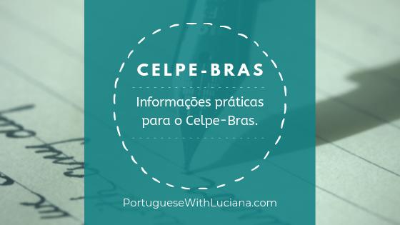 Informações práticas para o Celpe-Bras 2019-2