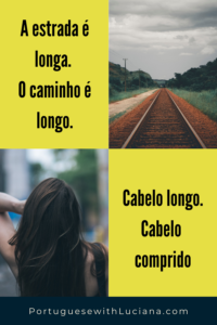 What's the difference between longe and longo examples