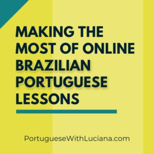 online Brazilian Portuguese lessons