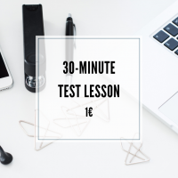 30-minute portuguese test lesson